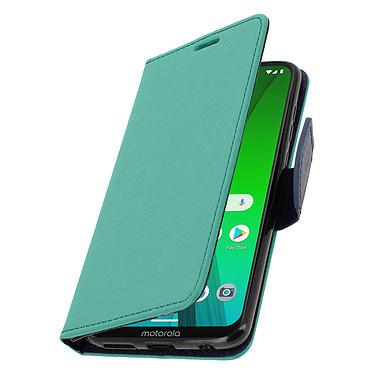 Avizar Etui folio Vert pour Motorola Moto G7 , Motorola Moto G7 Plus pas cher