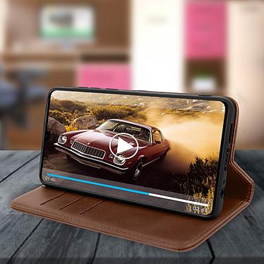 Avis Avizar Etui folio Marron Vieilli pour Huawei P30