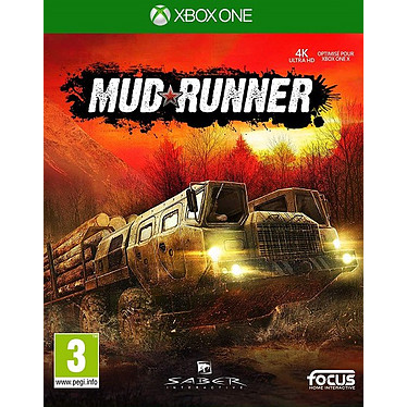 Spintires MudRunner (XBOX ONE) Jeu XBOX ONE Gestion 3 ans et plus