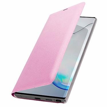 Avizar Etui folio Rose pour Samsung Galaxy Note 10 Plus pas cher