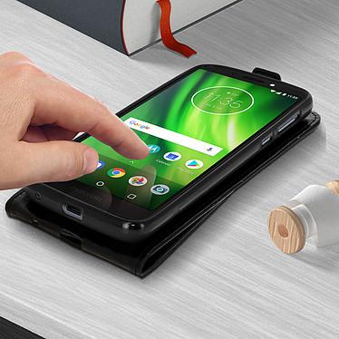 Acheter Avizar Etui à clapet Noir pour Motorola Moto G6 Play , Motorola Moto E5