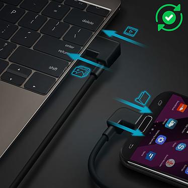 Acheter Avizar Adaptateur de charge Noir pour Appareils dotés d'un port Micro USB