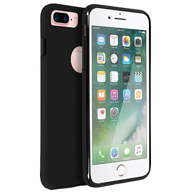 Avizar Coque Noir pour Apple iPhone 7 Plus , Apple iPhone 8 Plus Coque Noir Apple iPhone 7 Plus , Apple iPhone 8 Plus
