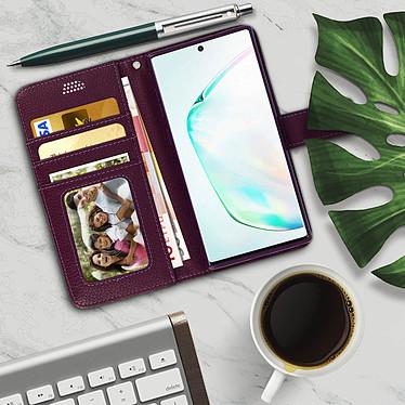 Acheter Avizar Etui folio Violet pour Samsung Galaxy Note 10 Plus