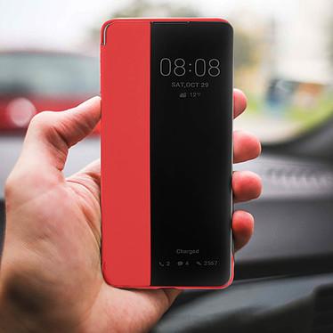 Acheter Avizar Etui folio Rouge à fenêtre pour Huawei P30