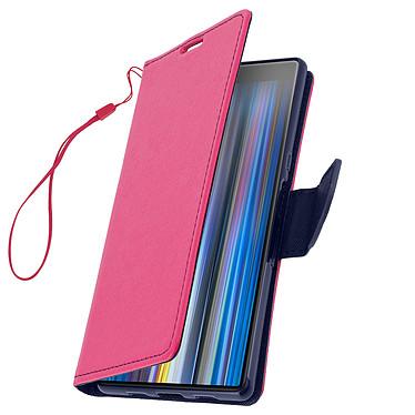 Avizar Etui folio Fuchsia pour Sony Xperia 10 Plus pas cher