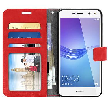 Acheter Avizar Etui folio Rouge pour Huawei Y6 2017