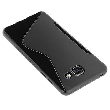 Avizar Coque Noir pour Samsung Galaxy A5 2016 Coque Noir Samsung Galaxy A5 2016
