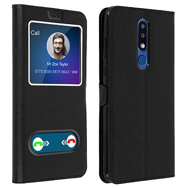 Avizar Etui folio Noir pour Nokia 3.1 Plus Etui folio Noir Nokia 3.1 Plus