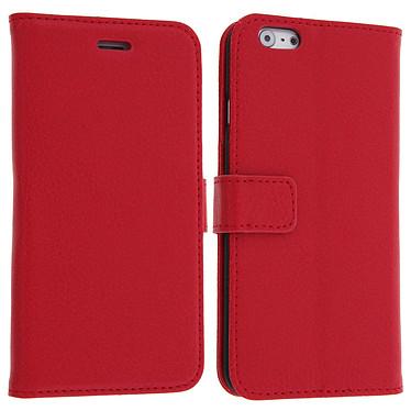 Avizar Etui folio Rouge pour Apple iPhone 6 , Apple iPhone 6S pas cher