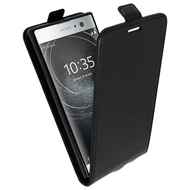 Avizar Etui à clapet Noir pour Sony Xperia XA2 Etui à clapet Noir Sony Xperia XA2