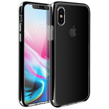 Avizar Coque Transparent Intégrale pour Apple iPhone X , Apple iPhone XS pas cher