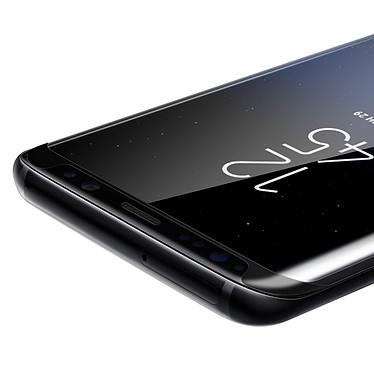 Avis Avizar Film verre trempé Noir pour Samsung Galaxy S8