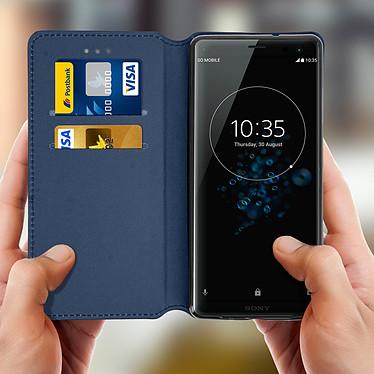 Acheter Avizar Etui folio Bleu pour Sony Xperia XZ3