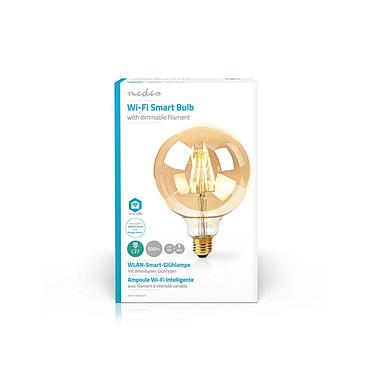 Nedis Ampoule connectée à Filament LED Wi-Fi G125 NEDIS pas cher