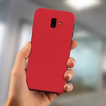 Avis Avizar Coque Rouge pour Samsung Galaxy J6 Plus