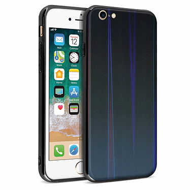 Avizar Coque Noir Collection Aurora pour Apple iPhone 7 , Apple iPhone 8 pas cher
