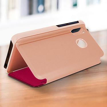 Acheter Avizar Etui folio Rose Design Miroir pour Samsung Galaxy A20e