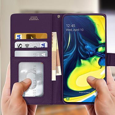 Acheter Avizar Etui folio Violet pour Samsung Galaxy A80