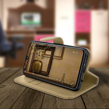 Avis Avizar Etui folio Dorée pour Samsung Galaxy A40