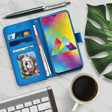 Acheter Avizar Etui folio Bleu pour Samsung Galaxy M20