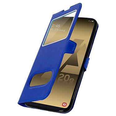 Avizar Etui folio Bleu pour Samsung Galaxy A20e pas cher