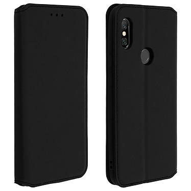 Avizar Etui folio Noir Stand Vidéo pour Xiaomi Redmi Note 6 Pro Etui folio Noir stand vidéo Xiaomi Redmi Note 6 Pro