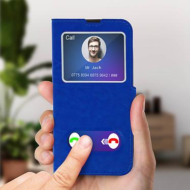 Avis Avizar Etui folio Bleu pour Samsung Galaxy A20e