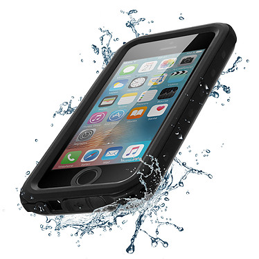 Avizar Coque Noir pour Apple iPhone 5 , Apple iPhone 5s , Apple iPhone SE pas cher