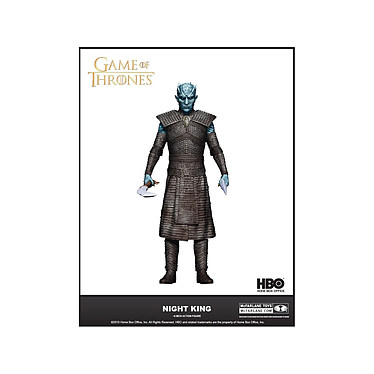Game of Thrones - Figurine The Night King 18 cm Figurine Game of Thrones, modèle The Night King 18 cm.