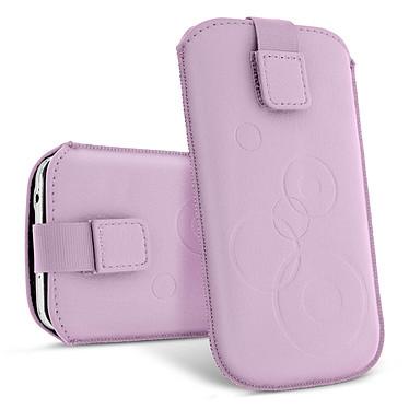 Avizar Etui slim Violet pour Tous les appareils de 130 mm de longueur et de 70 mm de largeur maximum pas cher