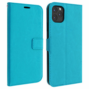 Avizar Etui folio Turquoise pour Apple iPhone 11 Pro Etui folio Turquoise Apple iPhone 11 Pro