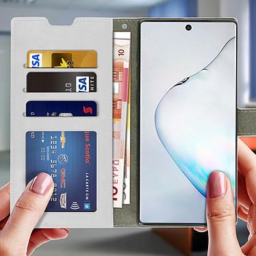 Acheter Avizar Etui folio Blanc Vintage pour Samsung Galaxy Note 10