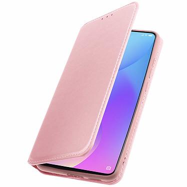 Avizar Etui folio Rose Champagne pour Xiaomi Mi 9T , Xiaomi Mi 9T Pro pas cher