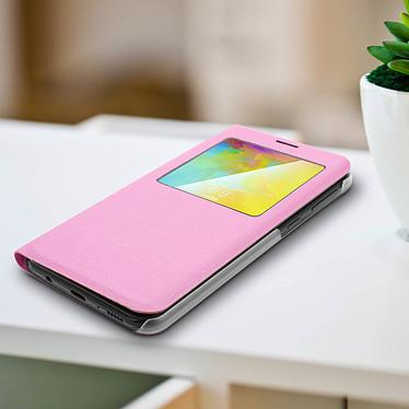 Avis Avizar Etui folio Rose pour Samsung Galaxy M20