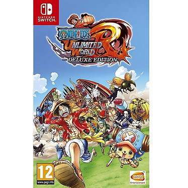 One Piece Unlimited World Red Deluxe Edition (SWITCH) Jeu SWITCH Action-Aventure 12 ans et plus