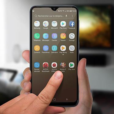 Acheter Avizar Film verre trempé Noir pour Samsung Galaxy A10 , Samsung Galaxy M10