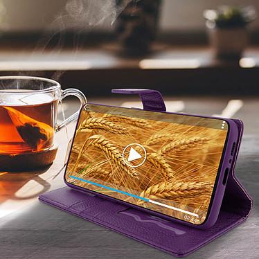 Avis Avizar Etui folio Violet pour Samsung Galaxy A80