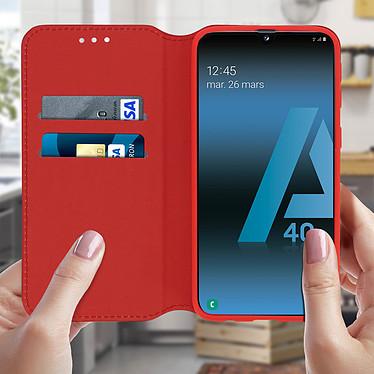 Avis Avizar Etui folio Rouge pour Samsung Galaxy A40