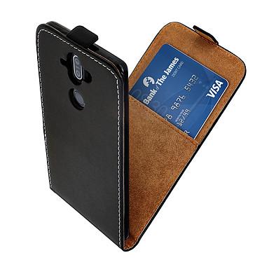 Avizar Etui à clapet Noir pour Nokia 9 , Nokia 8 Sirocco pas cher