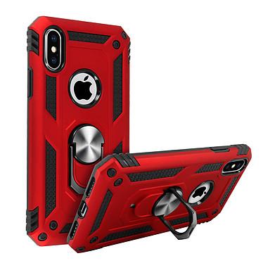 Avizar Coque Rouge Bi-matières pour Apple iPhone XS Max pas cher