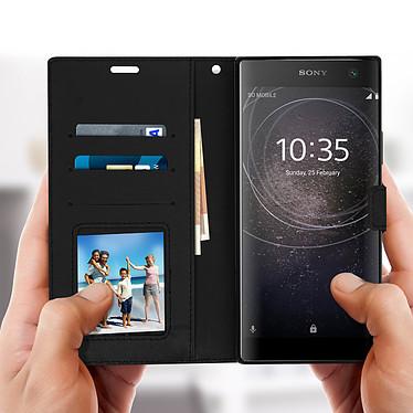 Avis Avizar Etui folio Noir pour Sony Xperia XA2 Plus