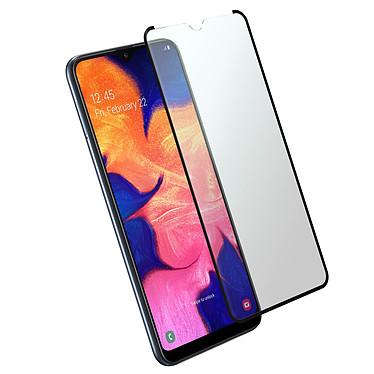 Avizar Film verre trempé Noir pour Samsung Galaxy A10 , Samsung Galaxy M10 Film verre trempé Noir Samsung Galaxy A10 , Samsung Galaxy M10