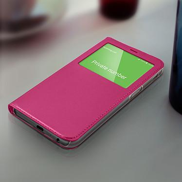 Acheter Avizar Etui folio Fuchsia pour Samsung Galaxy J6 Plus