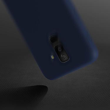 Avis Avizar Coque Bleu Nuit pour Samsung Galaxy A6 Plus