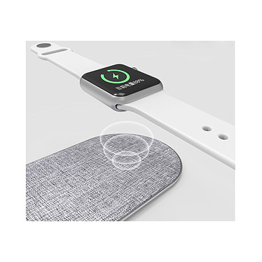 Avis Cellys Socle de charge induction IPhone 8 / 9 / X/ Xr et iWatch Blanc