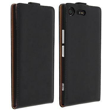 Avizar Etui à clapet Noir pour Sony Xperia XZ Premium Etui à clapet Noir Sony Xperia XZ Premium