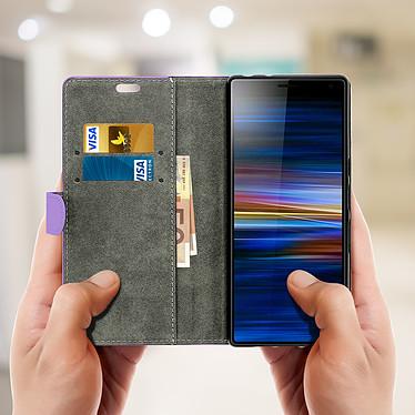 Acheter Avizar Etui folio Violet pour Sony Xperia 10 Plus