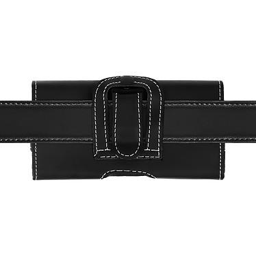 Avizar Etui ceinture Noir pour Smartphone de taille maximale 137 x 67 mm pas cher