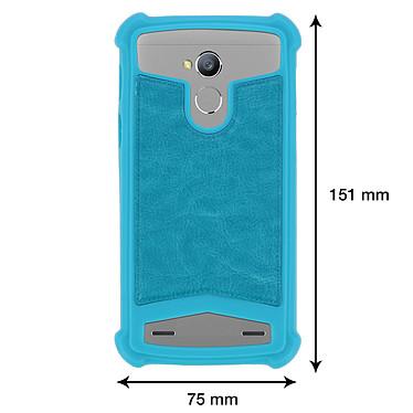 Acheter Avizar Coque Turquoise pour Smartphones de 5.0' à 5.3'